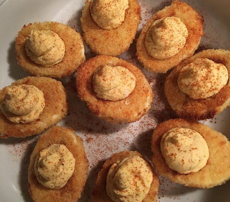 Air Fried Deviled Eggs